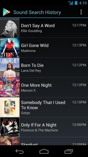 Sound Search for Google Play 1.1.12 Screen 3