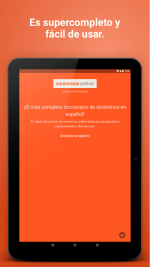 Diccionario Sinónimos Offline 2.7.0 Screen 11