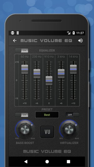 Music Volume EQ — Equalizer Bass Booster Amplifier 4.81c Screen 5