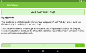 Stop Tobacco Mobile Trainer. Quit Smoking App Free 1.6 Screen 17