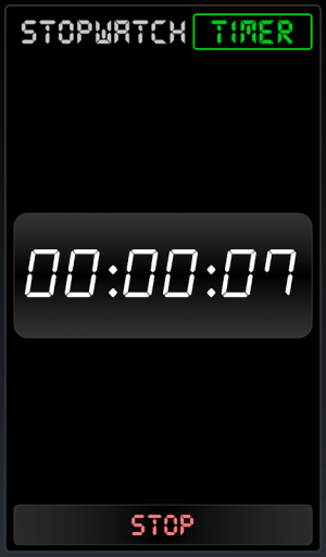 Android Stopwatch Timer Screen 3