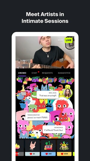 Sessions: Live Music Streaming 1.8.3 Screen 2
