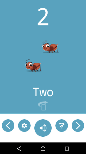 Number Flashcards 1.0.1 Screen 1