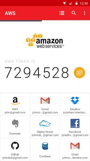 Authy 2-Factor Authentication 24.2.0 Screen 4