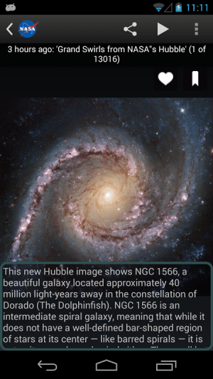 NASA App 1.61 Screen 10