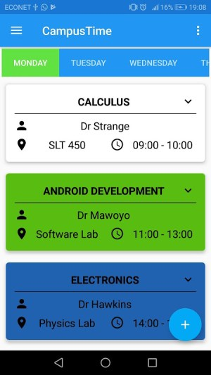 Campus Time - School Timetable Maker 3.0.0 Screen 7