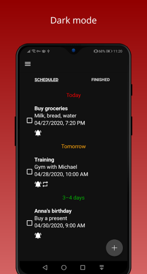 Android Todo Task Reminder Pro + Widget Screen 6