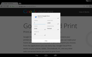 Cloud Print 0.9.2 Screen 17