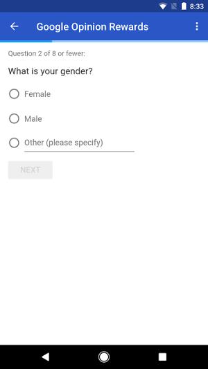 Google Opinion Rewards 20180523 Screen 2