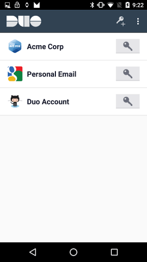 Duo Mobile 3.16.4 Screen 1