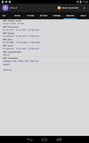 CPU-Z 1.33 Screen 16