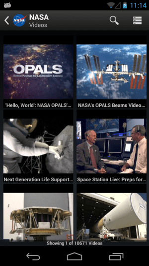 NASA App 1.58 Screen 15