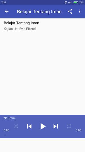 Kajian Full Offline Ust Evie 7.0 Screen 2