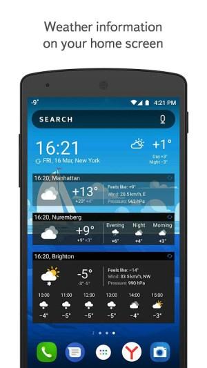 Yandex.Weather 11.26 Screen 10