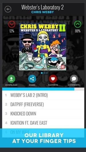 DatPiff - Mixtapes & Music 4.8.0 Screen 1