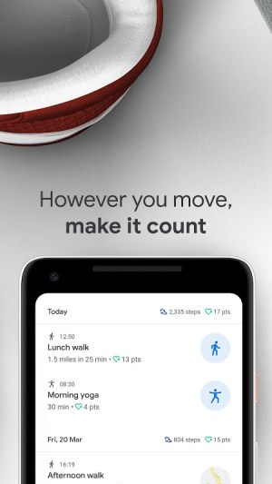 Google Fit: Health and Activity Tracking 2.33.52-130 Screen 1