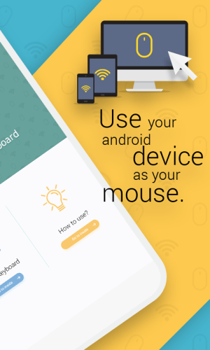 Android WiFi Mouse : Remote Mouse & Remote Keyboard Screen 1