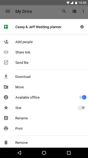 Google Drive 2.19.112.07.46 Screen 11
