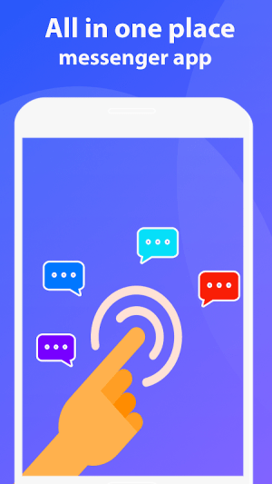 Android Message Text and Call Video Chat Free Screen 2