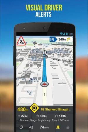 NaviMaps: 3D GPS Navigation 3.0.0 Screen 9