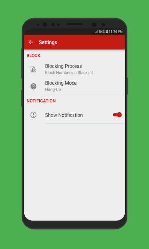 Android Caller Blacklist - Spam & Call Blocker Screen 5