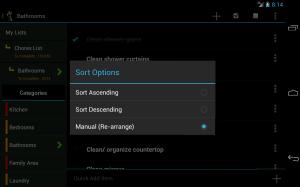 Chores List FREE 7.0c Screen 2