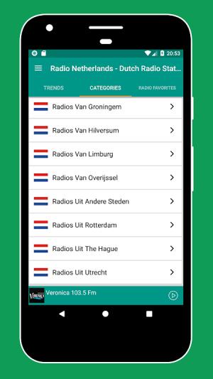 Android Radio Netherlands - Radio Netherlands FM: Radio NL Screen 5