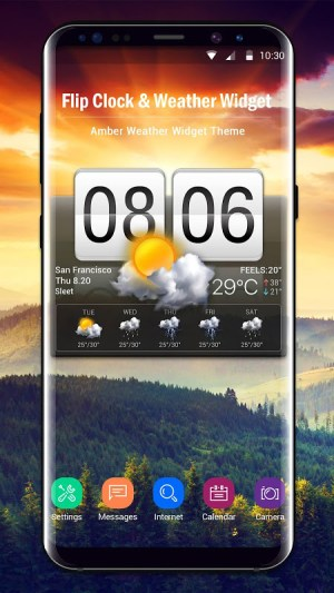 Android Local Weather Report Widget Screen 12