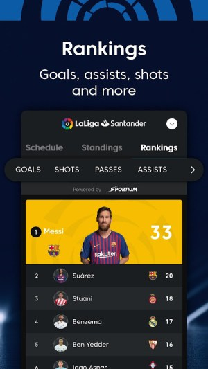 La Liga - Spanish Football League Official 7.3.8 Screen 3
