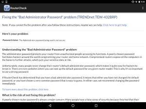RouterCheck 0.9.22 Screen 11