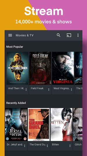 Plex: Stream Free Movies, Shows, Live TV & more 8.12.4.22902 Screen 8