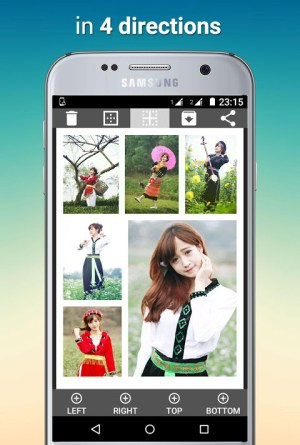 Android Tiled Photo Collage Screen 3
