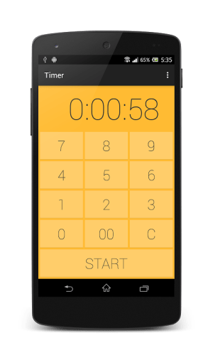 Timer-Kitchen timer&Stopwatch 1.2.3 Screen 4
