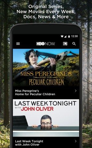 HBO NOW: Series, movies & more 2.4.0 Screen 1