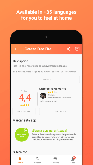 Aptoide 9.7.0.1 Screen 1