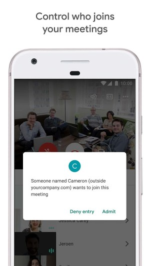 Google Meet – Secure video meetings 2021.04.18.369492438.Release Screen 2