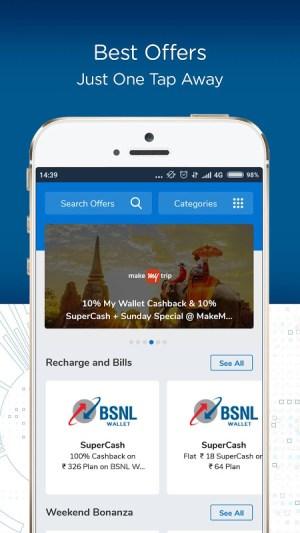 BSNL Wallet - Recharges, Bill Payments, Shopping 1.1 Screen 4