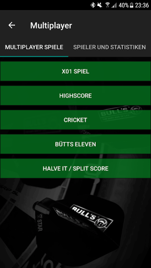 Darts Scoreboard: My Dart Training 2.2.0.3 Screen 8