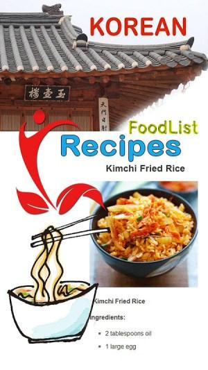 Easy Korean Food Recipes 4.18 Screen 1