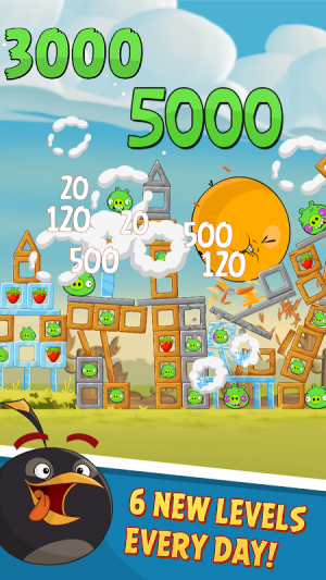 Android Angry Birds Classic Screen 4