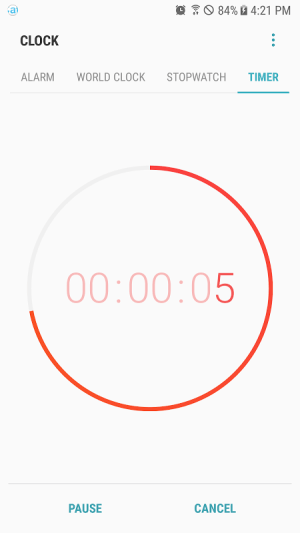 Samsung Clock 7.0.92.7 Screen 5