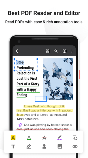 Android PDF Reader Pro - Annotate, Edit, Fill Forms & Sign Screen 9