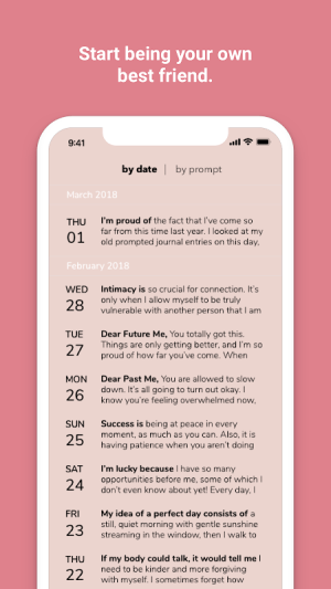 Prompted Journal 4.0 Screen 5