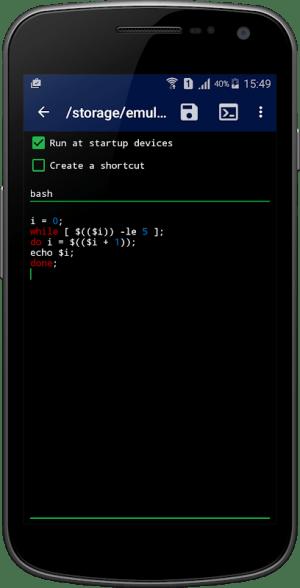 Qute: Command Console & Terminal Emulator 3.15 Screen 3