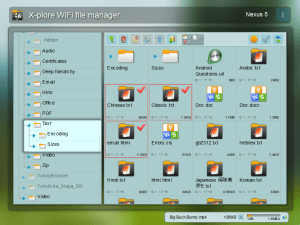 X-plore File Manager 3.90.04 Screen 2