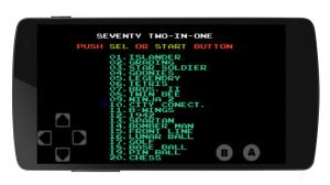 Android NES Emulator Screen 1