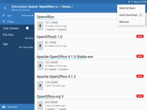 BiglyBT, Torrent Downloader Client 1.3.2.0 Screen 5