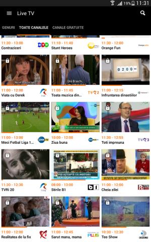 Orange TV Go 8.1.1 Screen 9