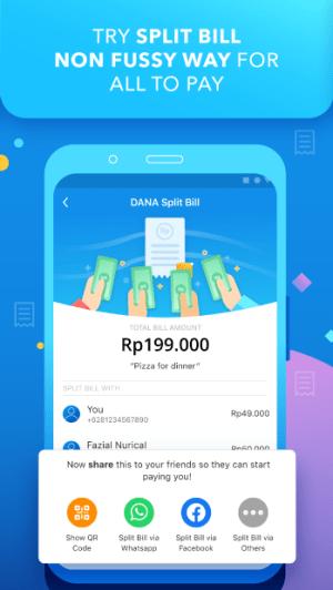 DANA - Indonesia's Digital Wallet 1.9.0 Screen 1