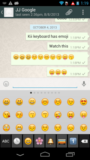 Kii Keyboard + Emoji 1.2.24 Screen 18